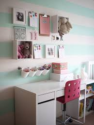 likes desk kids desk goals using ikea kitchen storage and desk to create a perfect desk set up a little girl s pink and mint green bedroom tour