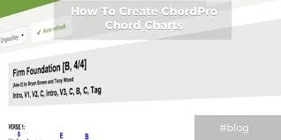 Guitar Chord Chart Template Excel Tutorial How To Create Chordpro Format Chord Charts