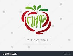 Fruit And Vegetable Logo Design Vector Logo Design Template Fruit Vegetable Stock Vector