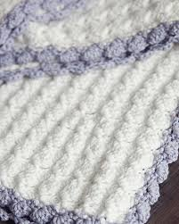 Free Crochet Blanket Patterns Custom Learn To Make Free Crochet Baby Blanket Patterns