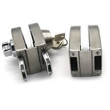 stainless steel 304 glass door lock