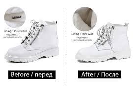 <b>Donna in</b> Winter Martin Boots Women Platform Ankle Boots Heels ...
