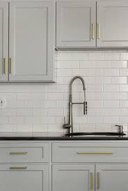 White Cabinets With Bronze Handles White Kitchen Cabinet Hardware