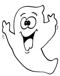 Disegni Da Stampare I Fantasmi Di Halloween Fantasmino Divertente