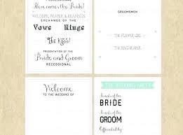 Wedding Booklet Template Program Booklet Template Fresh The Best Wedding Ceremony