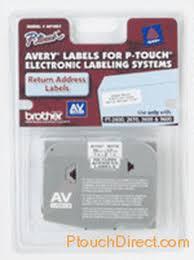Avery Av1957 Paper Return Address Labels For P Touch Printers