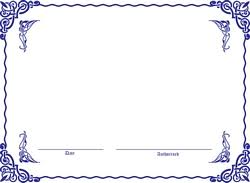 Certificate Template Photoshop Blank Certificate Background Designs For Certificate Format Border