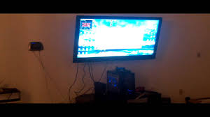 55 inch Insignia 1080P 120HZ Articulating Wall Mount Installation - YouTube