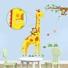 Giraffe Height Chart Kidiko Ie Personalised Baby Gifts