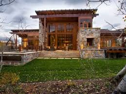 Modern Mountain Homes Modern Rustic Homes Modern Rustic House Unique Rustic Modern Home Design Plans