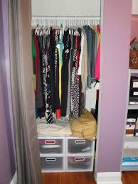 image of small closet design ideas space