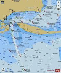 Pensacola Bay Entrance Marine Chart Us11384_p133