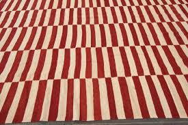 red and white striped rugby socks modern geometric rug for at 4 l