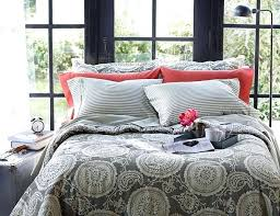 threshold comforter a bed featuring in elephant grey with accented c bedding review