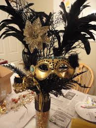 Table Decorations For Masquerade Ball Masquerade Mask Table Decorations Centerpiece I made for Kailys 12