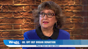 The Wright Stuff Yasmin Alibhai Brown gets angry during Organ.
