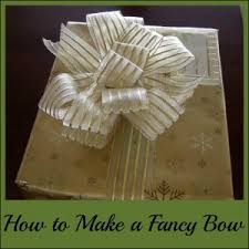 How to Make a Fancy Bow using wired ribbon, wire and scissors. This is an  eco-friendly and frugal option for gift wrapping presents as it can be  reused for ...