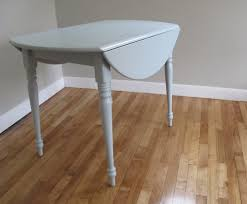White Round Drop Leaf Table Starrkingschool - Leaf dining room table
