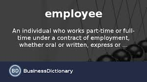 what is an employee definition and meaning com