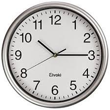 office wall clocks large. fine office elvoki best wall clock 125 inch quartz with arabic numerals u2013 office  classroom clock and office clocks large 4