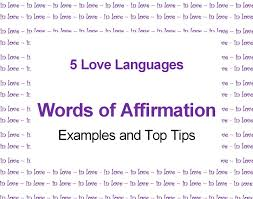 words of affirmation love language top tips and examples pairedlife