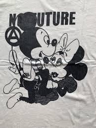 ミッキーマウス ミニーマウス Tシャツ エロ パロディ ビンテージ 新品