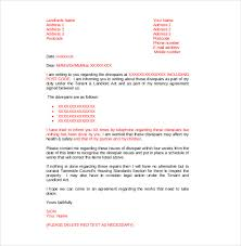 complaint letter examples 9 tenant complaint letter templates free sample example