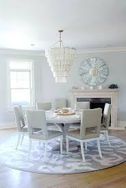 round kitchen table rugs gray dining area with fireplace and round rug home by handler interior round kitchen table rugs