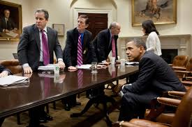 recapturing oval office. recapturing oval office president obama meets with staff in the roosevelt room of white house p