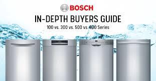 Bosch Dishwasher Review: Bosch 100 vs 300 vs 500 vs 800 Series Dishwashers