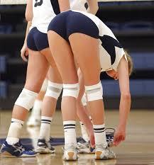 College volleyball ass photos