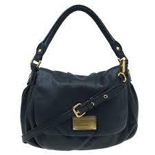 marc jacobs black leather classic q lil ukita shoulder bag nextprev prevnext