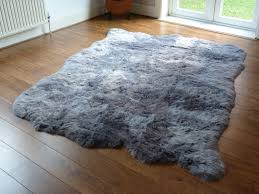 classy inspiration large grey rug just in gorgeous sheepskin rugs