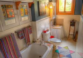 Home Interior Makeovers And Decoration Ideas Pictures  Colorful Colorful Bathrooms