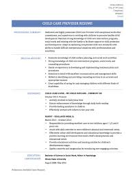 Day Care Experience On Resume Sample Resume For Daycare Worker With No Experience New Resume
