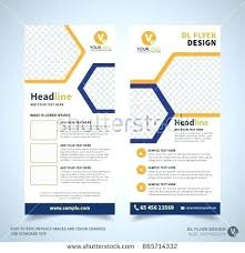 Leaflet On Word Folded Flyer Template Tri Fold Brochure Word Mac 3