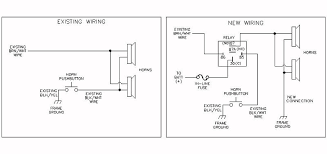 dual horn w relay wiring help adventure rider the below is the connection diagram for earlier kawasaki concours but your wiring should be similar