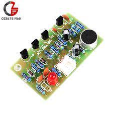 DIY çocuklar alkış akustik kontrol anahtar modülü alkış ses ses aktif LED  anahtarı paketi devre elektronik PCB Arduino için|Instrument Parts &  Accessories