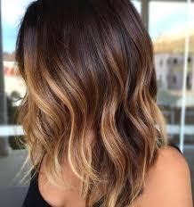 dark brown hair with blonde highlights short hair 45 sunny and sophisticated brown with blonde highlight