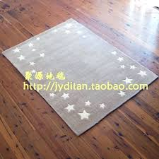hand made cut pile grey star area rugs for kids manufacturer from china wars p star area rugs custom all wars