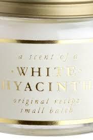 <b>Ароматическая свеча</b> в стекле - Белый/<b>White</b> Hyacinth - HOME ...