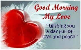 sweet good morning my love messages and