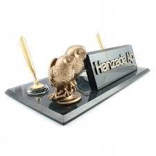 Baykuş biblolu masa üstü isimlik - Reklamatay - ANTALYA