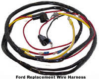 restoration supply ford tractor parts Reproduction Wiring Harness our replacement wire harnesses are good quality and an excellent choice for working tractors our exact reproduction wire harnesses are braided to look reproduction wiring harness 50 chevy truck