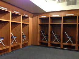 Lions Locker Room At Ford Field Home Of The Detroit Lions