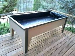 free standing garden boxes beds amusing waist high fresh ideas raised planter box 6 elevated