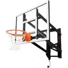 wall mounted basketball rim basketball