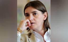 Resultado de imagen para mujer abiertamente gay que fue nombrada como primera ministra de Serbia
