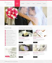 Wedding Planner Psd Template 37054