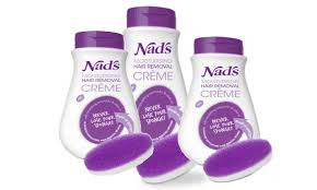 three nad s hair removal creams